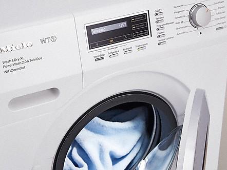 Beladungsanzeige und dosierempfehlung waschtrockner