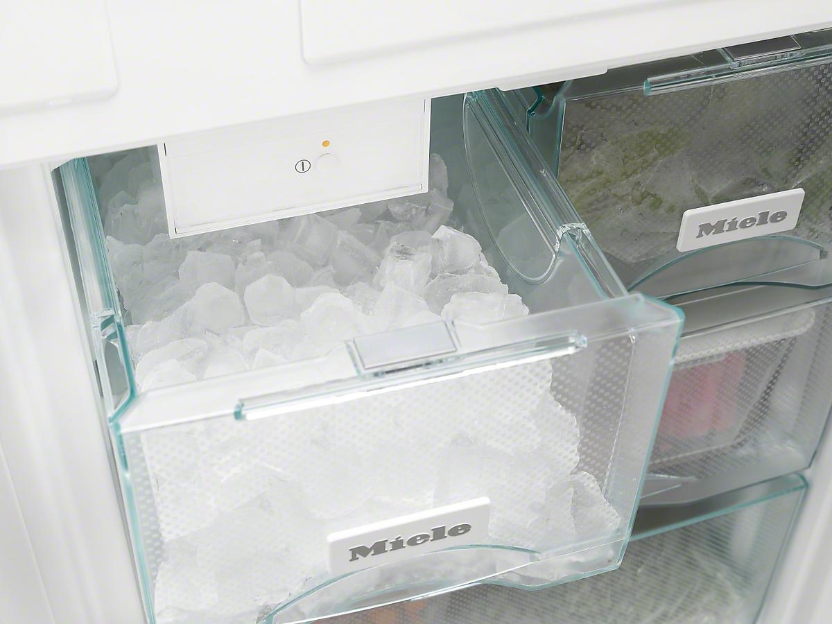 Side By Side Kühlschrank Platzbedarf : Miele kfn 37692 ide einbau kühl gefrierkombination