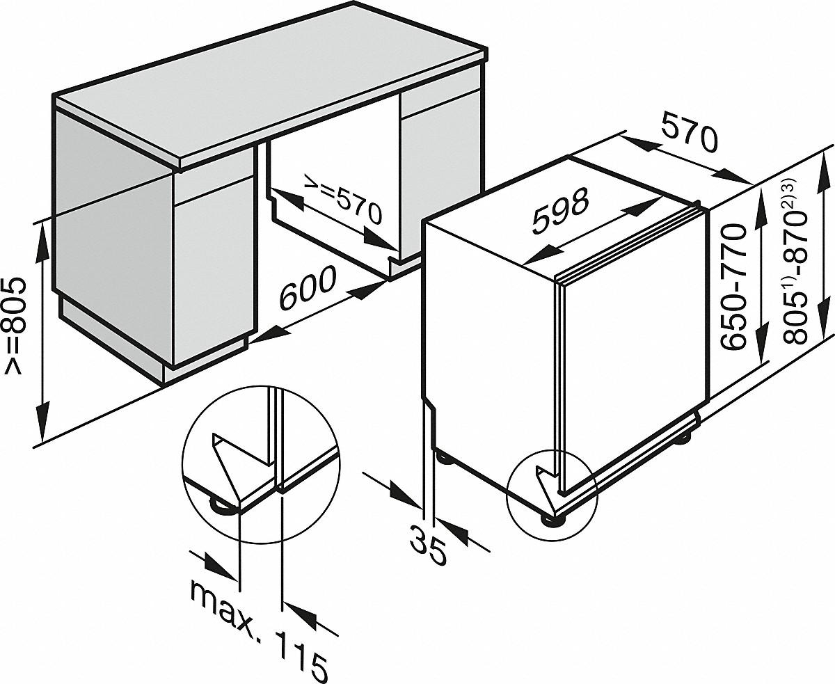 Miele G 6260 Scvi Vollintegrierter Geschirrspuler