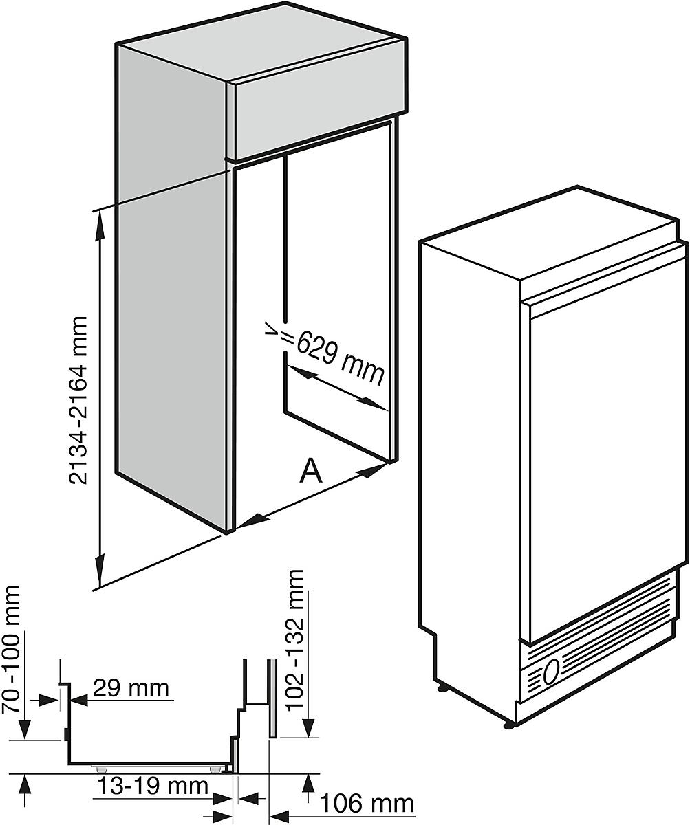 Miele KWT 1612 Vi MasterCool Wine Temperature Control Unit