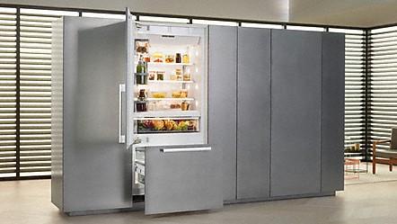 Side By Side Kühlschrank Integriert : Miele kühl gefrierkombinationen