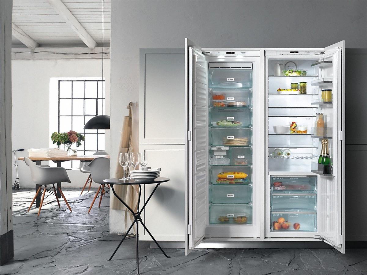 Side By Side Kühlschrank Integrieren : Miele k id einbau kühlschrank