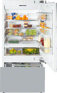 KF 1901 Vi - MasterCool fridge-freezer with maximum storage space and high-quality features for exacting demands.--NO_COLOR