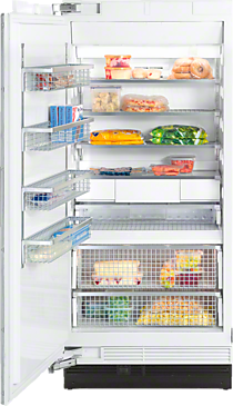 F 1911 Vi - MasterCool freezer More space and maximum convenience with IceMaker and telescopic drawers--NO_COLOR