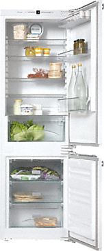 KFNS 37232 iD - Built-in fridge-freezer combination versatile storage conditions thanks to LED lighting, Frost free and VarioRoom.--