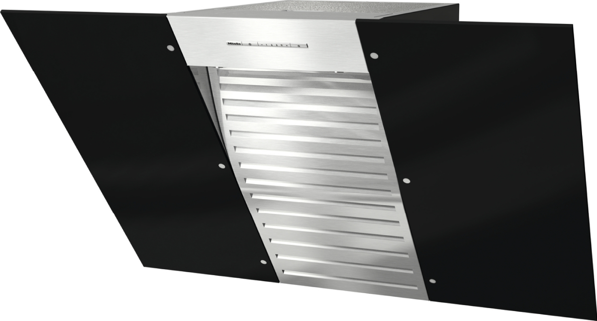 DA 6096 W Wing   Wall Mounted Cooker Hood With Energy Efficient LED  Lighting And