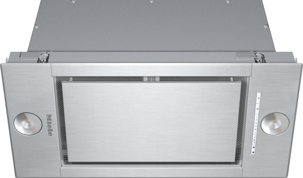 DA 2660 - Extractor unit with energy-efficient LED lighting and light-touch  switches