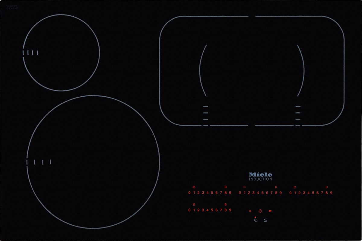 Miele Km 6365 Induction Hob With Onset Controls Cooker Circuit Diagram Download Powerflex Cooking Zone For Maximum Versatility And