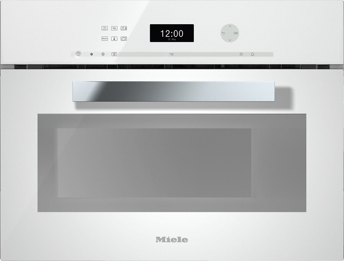 Miele Dampfgarer | DGM 6401 Dampfgarer mit Mikrowelle