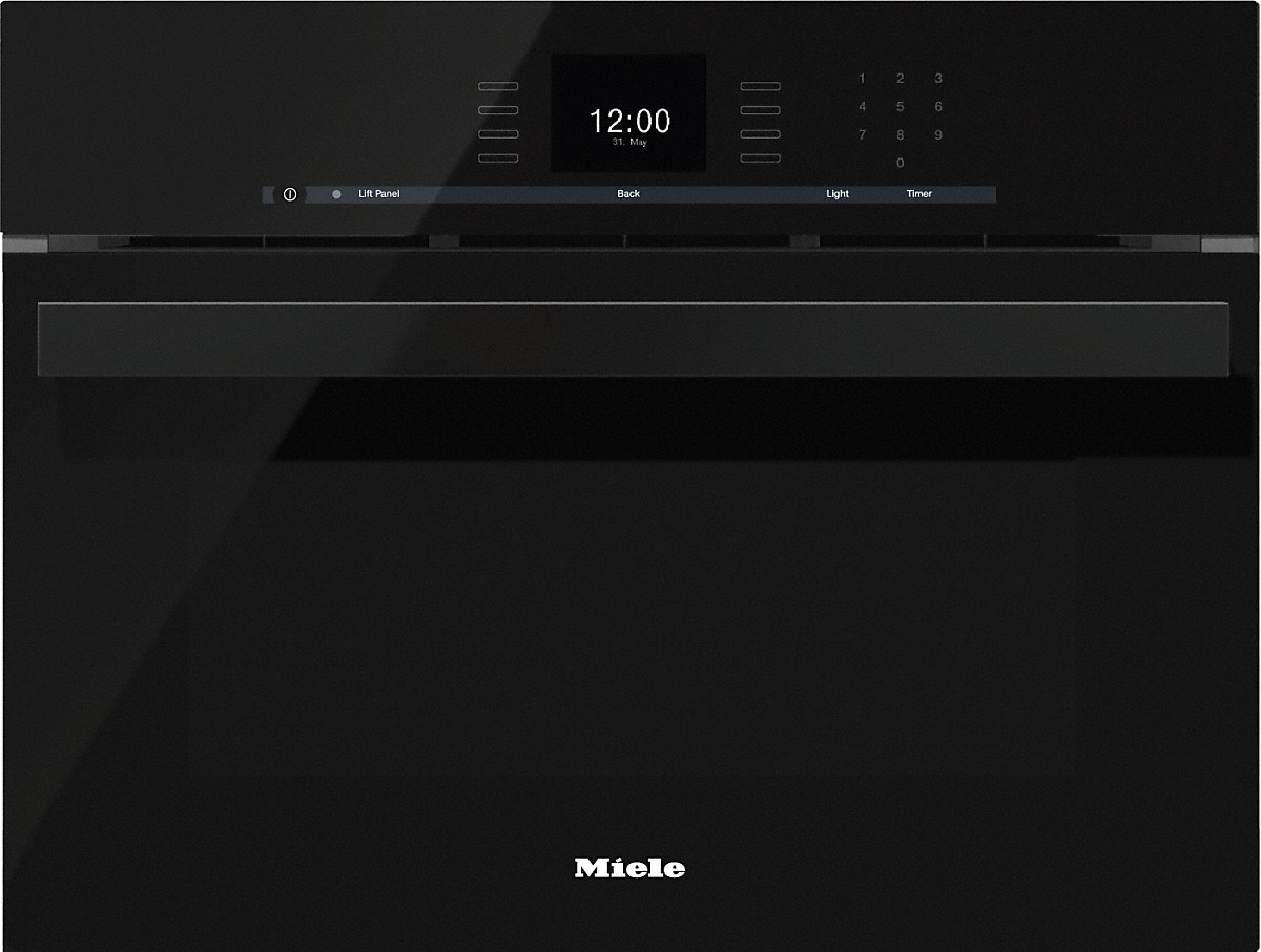Dgc 6600 Xl Steam Combination Oven With Fully Fledged Function Obsidian