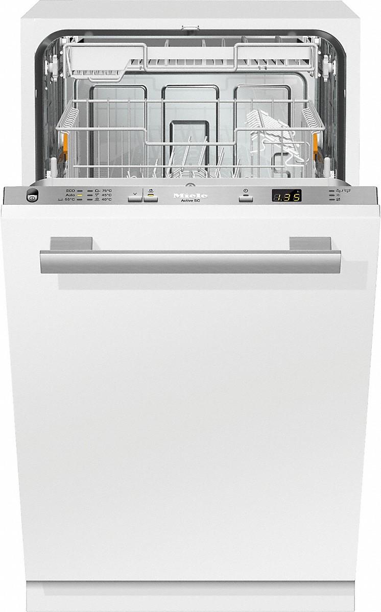 G 4680 SCVi Active   Vollintegrierter Geschirrspüler Mit Startvorwahl Und  Besteckschublade Für Höchsten Komfort.