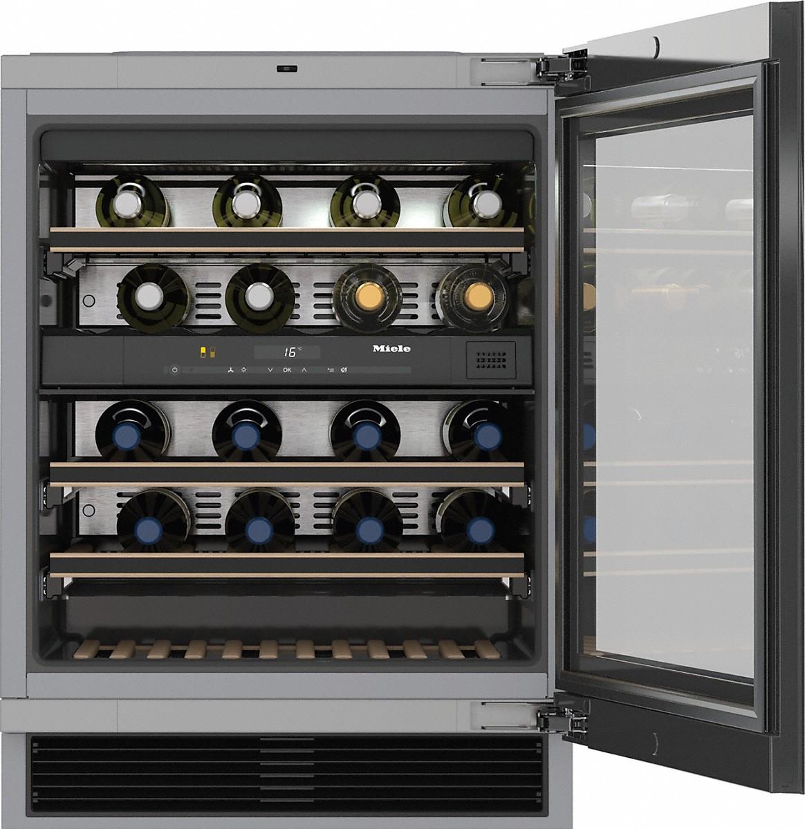 Miele Kwt 6322 Ug Unterbau Weintemperierschrank